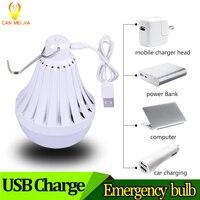 USB Rechargeable LED Bulb Light E27 Lampadas 220V 12W 20W 30W 40W Smart Emergency Ampoule Led