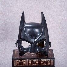 Маска Бэтмена на Хеллоуин дети черная маска для косплея маска для человека крутой лицо костюм аксессуар