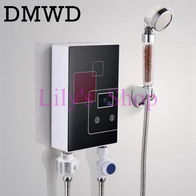 Instant tankless electric hot water heater faucet kitchen for 4 bathroom tankless water heater