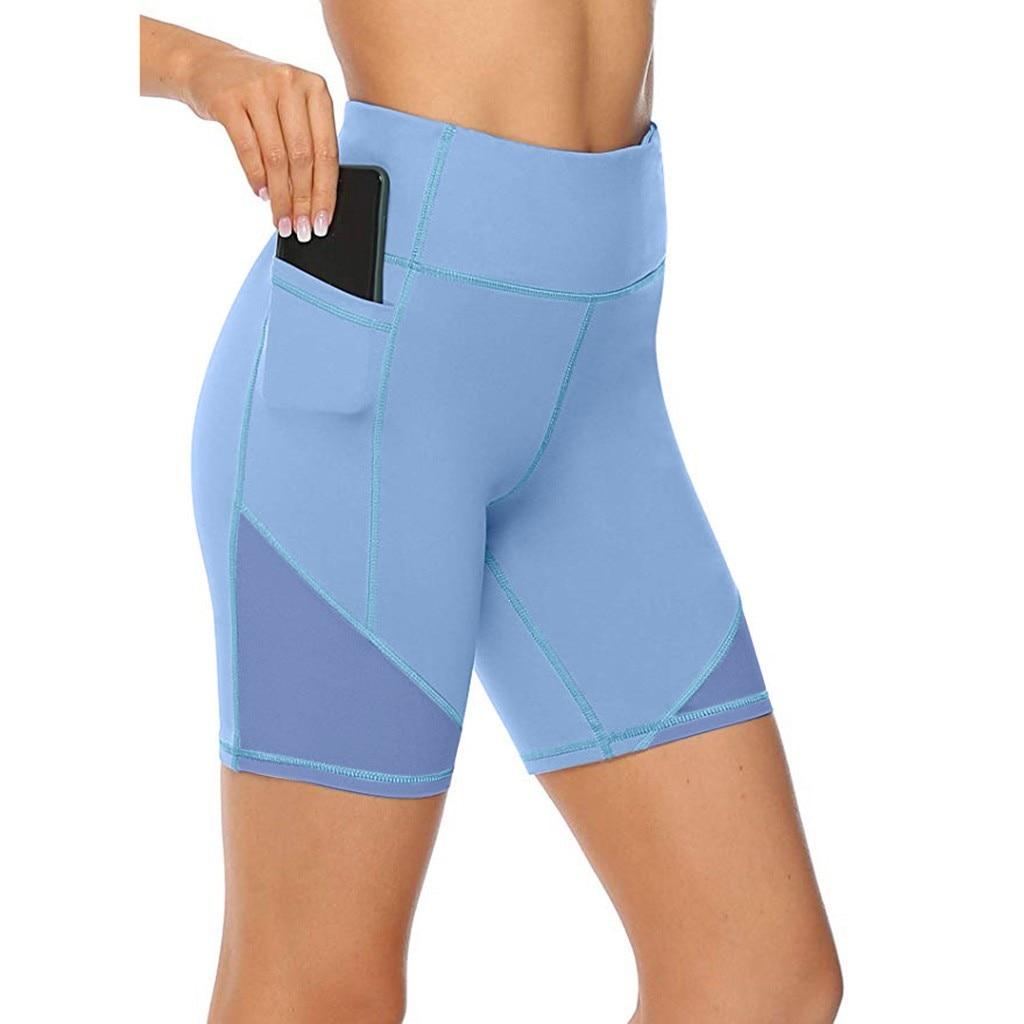 1 PC Women Shorts Women's High Waist Short Trousers Abdomen Control Training Running Shorts Hot Selling #P5