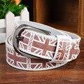 2016 Nuevo Diseñador de la Marca Famosa Cinturones de Lujo Mujeres Hombres Cinturones de La Cintura Masculina Cinturón de Correa de piel de Vaca Cuero de La Pu Hebilla de la Aleación W49
