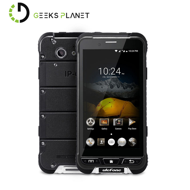 Original Ulefone Armor MTK6753 1.3GHz Octa Core 4.7 Inch HD Screen Android 6.0 IP68 Water Proof 3G RAM 32G ROM 4G LTE Smartphone
