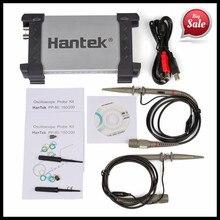 Hantek 6022BE Цифровой Осциллограф 2 Канала 20 МГц Портативный ПК USB Осциллографы Ручной Osciloscopio Portátil Автомобилей детекторы