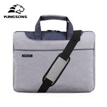 Kingsons Erkekler ve Kadınlar için Yüksek Kalite Laptop Çanta Seyahat Bussiness Notebook Çantası Büyük Kapasiteli 11 13 14 15 Inç bilgisayar