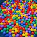 Piscina de agua Del Océano Bola de la Onda 200 unids Bola Colorida Diversión Bola Suave Océano Bola plástica Del Cabrito Del Bebé Del Juguete de la Nadada Pit Toy Envío Gratis