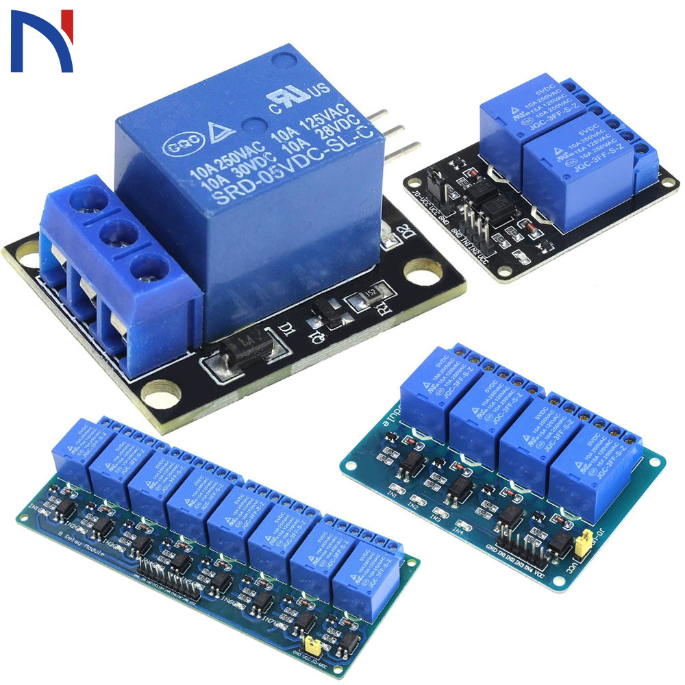 5x 5v Relais módulo 1-canal 1 Relay módulos 10a 230v ac 30v dc Arduino Raspberry