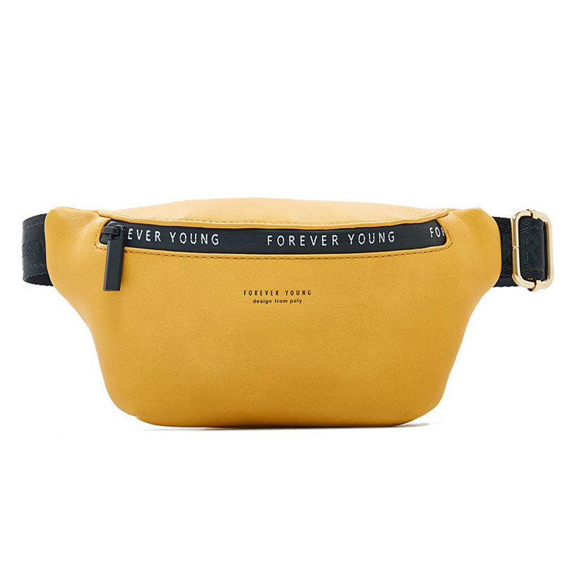 WEICHEN New Women Fanny Pack Multi function Waist Chest Bag Ladies Belt Bag Bum Pochete Sac Banana Female Waist Pack FASHION in Waist Packs from Luggage Bags