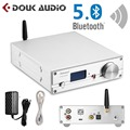 HiFi ES9038Q2M DAC Bluetooth 5 0 USB XMOS аудио декодер Стерео DSD512 APTX HD настольный мини-усилитель с разъемом для наушников