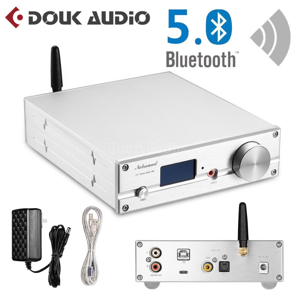 bluetooth 5.0 CSR8675 APTX HP ES9038Q2M ES9038 Q2M HIFI DAC DSD XMOS Decoder