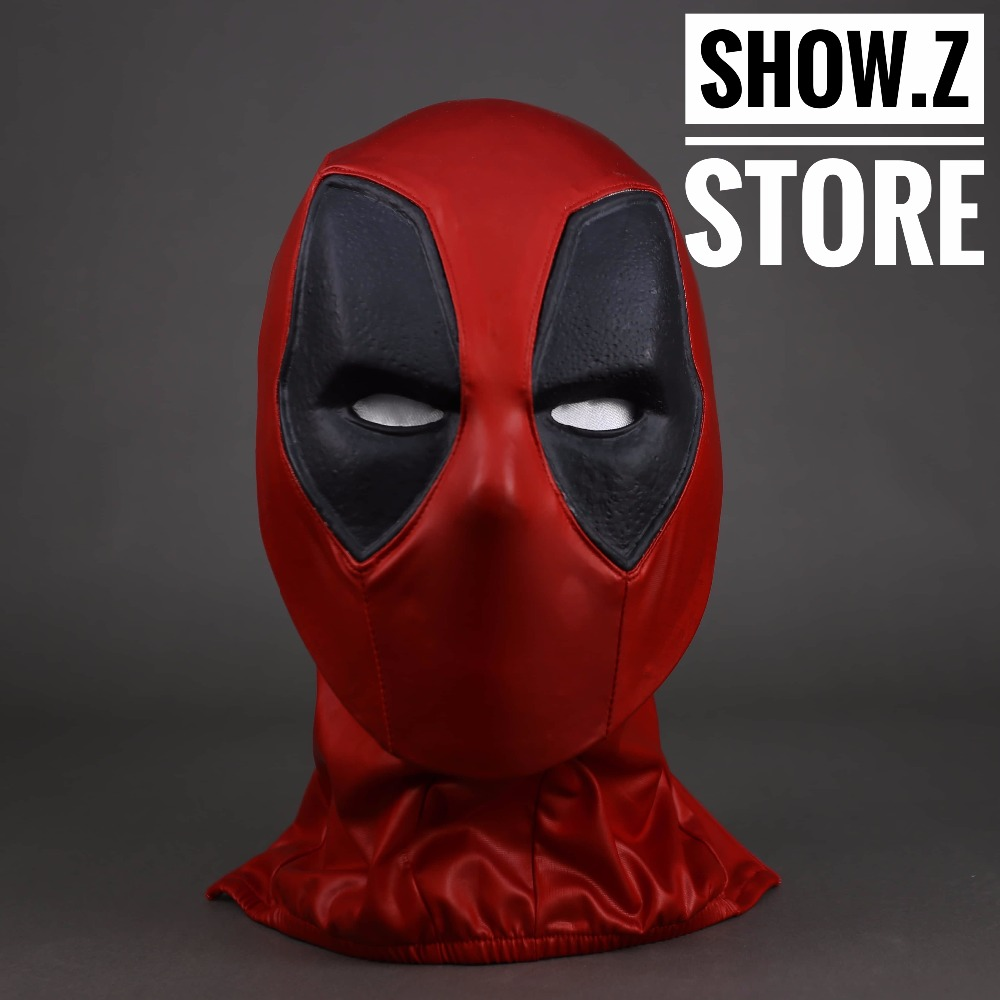 [Show.Z Store] Cattoys Deadpool Full Size Helmet Mask Movie Prop Cosplay Wearable 1/1 2016 movie cosplay captain america civil war helmet cosplay black panther helmet t challa helmet mask party halloween prop