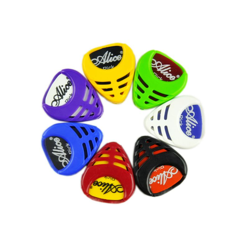 6 Pcs /lot Tool Kit Guitar Tuner + Capo + Plectrum Holder +7 Celluloid Picks Tuning Capotraste Mediator Case Guitarra Parts Acce 100pcs acoustic electric guitar picks parts acoustic celluloid plectrum multi 0 46 0 71mm classical guitar pick