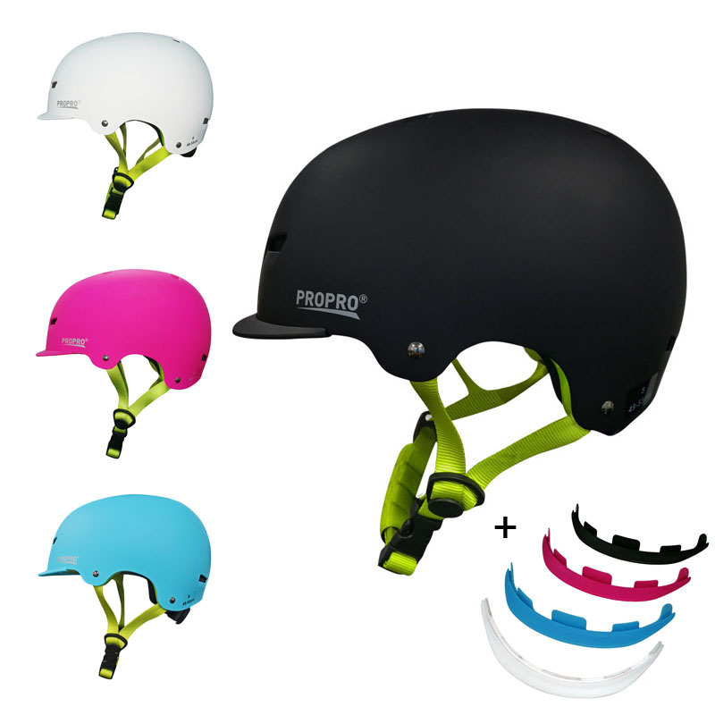 PROPRO Children Outdoor Sports Roller Skating Skiing Helmet Men Women Breathable Removable Cap Peak Sports Protectors Helmet