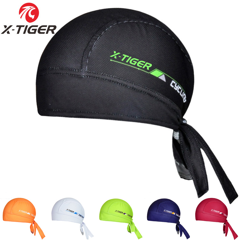 2019 X-Tiger Brand 100% Polyester Breathable Cycling Headwear/Summer Mountain Bike  Ciclismo Scarf/Quick-Dry MTB Bicycle Caps