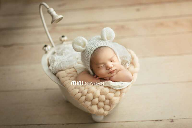 Newborn Photography  Props  Iron Bathtub Creative Retro Bathtub Old Style Baby Bathtub Photo Accessories