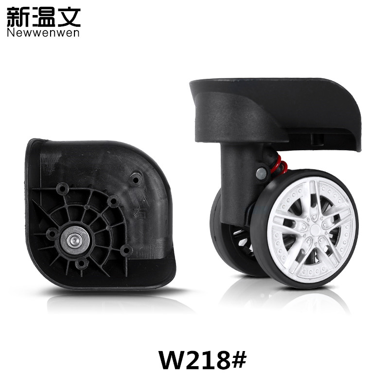 Replacement Luggage Wheel,Luggage Wheels parts,Wheels for suitcases,Suitcase Wheels Repair W218# new luggage replacement wheels suitcase repair replacement parts 360 spinner upright mute high quality wheels for suitcases 2pcs