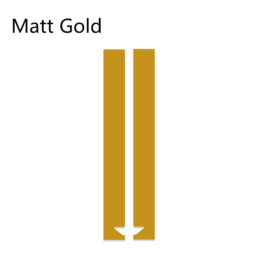 Авто полосы капот наклейки для автомобиля Стайлинг для MINI Cooper S One JCW R55 R56 R60 R61 F54 F55 F56 F60 земляк аксессуары - Название цвета: Matte Gold