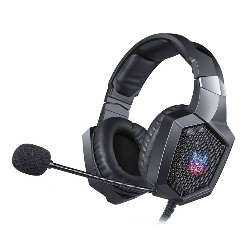 FELYBY K8 gaming headset wired lighting computer noise canceling headphones for playing games open black live headphones стоимость