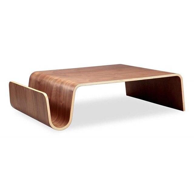 Mitte Des Jahrhunderts Design Moderne Sperrholz Center Tisch Für Frühstück,  Magazin Wohnzimmer Möbel Seite Ende