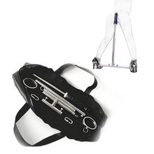 Stainles Steel Spreader Bar Ankle Cuffs With Silicone Anal Plug Dildo Restraints Belt BDSM Bondage Device Butt Plug Sex Toys