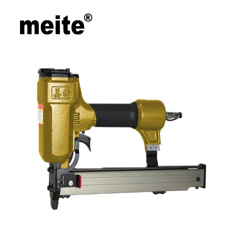 Meite 635TR 8.8MM CROWN 16 Gauge U-nail stapler pneumatic stapler tool gun nailer gun for Cabinets Jun.21 Update tool
