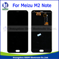 50 pcs In Stock! For Meizu M2 Note Touch Screen Digitizer + LCD Display For Meilan Note 2 5.5 inch Cellphone Black Color