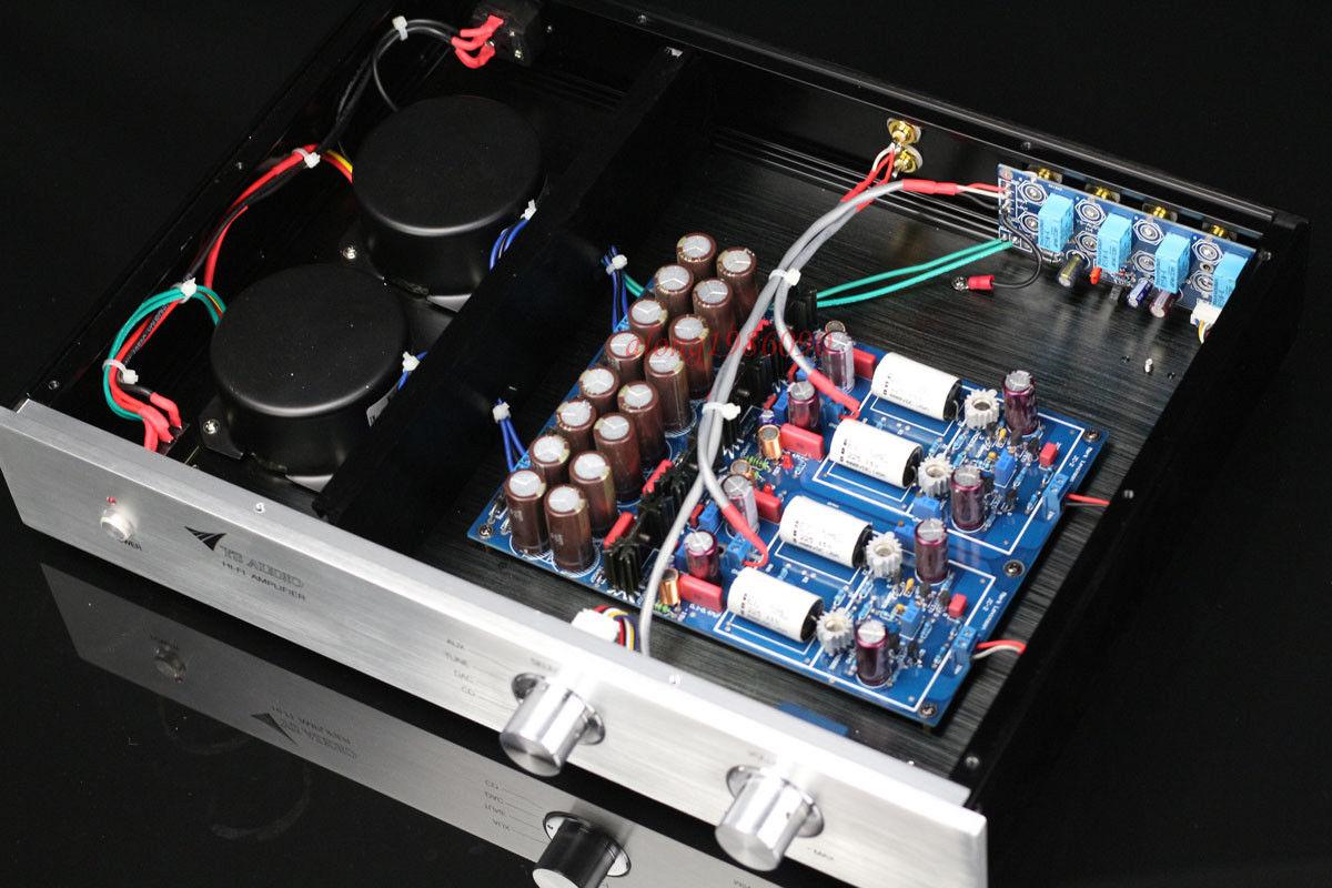 Hifi 12AX7 Tube Stereo preamplifier base on conrad-johnson CL preamp    L8-24