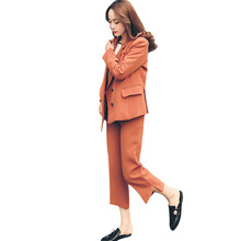 Hot black Pant Suits for Women Custom made Ladies Business Formal Office Work Wear Sets Uniform Styles suits