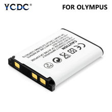 3.7V 1.2Ah Li-40B Li-42B Digitale Vervanging Camera Batterij voor Olympus IR-300 SP-700 VR-330 Nikon EN-EL10 FUJIFILM NP45 Camera(China)