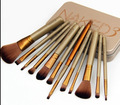 New NK 12pcs=1set Professional  makeup brushes tools set , Makeup Brush tools kits for eye shadow palette Cosmetic Brushes