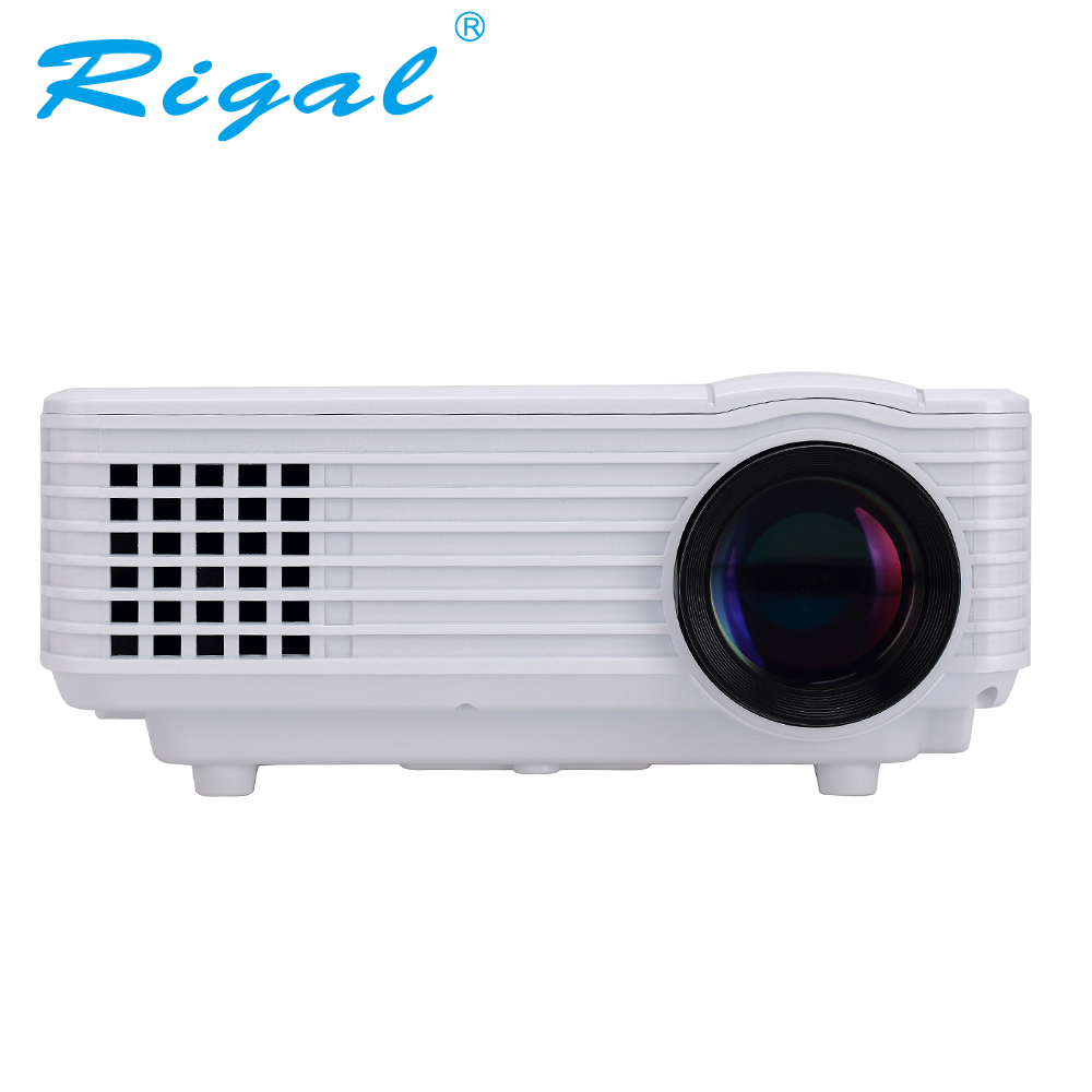 Rd805 1200 lumen pico led projector mini portable rd 805 for Beamer portable