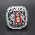 Vintage Silver Plated Retro 2004 Boston Red Sox World Series Championship Rings replica men jewelry best gift for sports fans