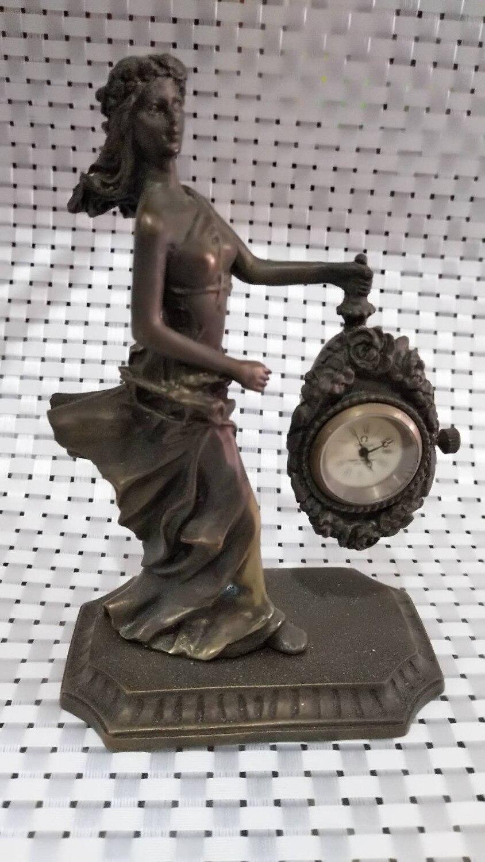 Бесплатная доставка Античная Медь Механическая красота коллекции классические часы