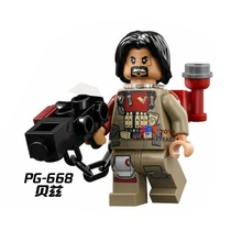 50pcs starwars Rogue One Baze Malbus Weapon building blocks bricks friends for boy kids children toys brinquedos menina