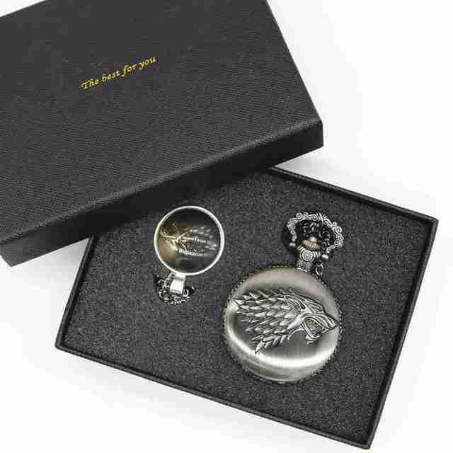 "Retro Pocket Watch ""House Strak"""