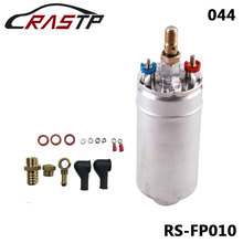 RASTP-Stainless Steel High Quality External Fuel Pump 044 Poulor 300LPH Color Silver RS-FP010 high quality 316 stainless steel high viscosity vertical epoxy resins glycerin honey screw pump