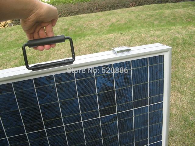 Au Stock No Tax 100W Folding Solar Panel Portable Solar Panel, Solar Charger for 12v Battery Solar Controller