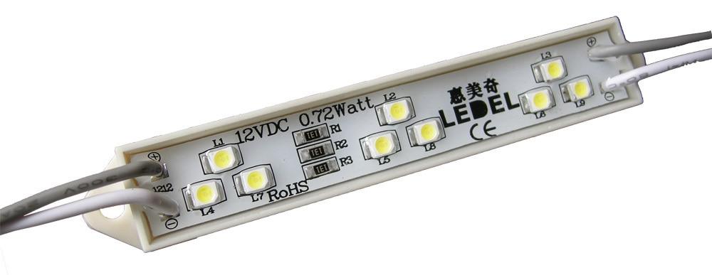 5 years warranty,0.72w 3528 9leds <font><b>epoxy</b></font> <font><b>led</b></font> resin <font><b>sign</b></font>,powered by everlight 3528 <font><b>led</b></font> module