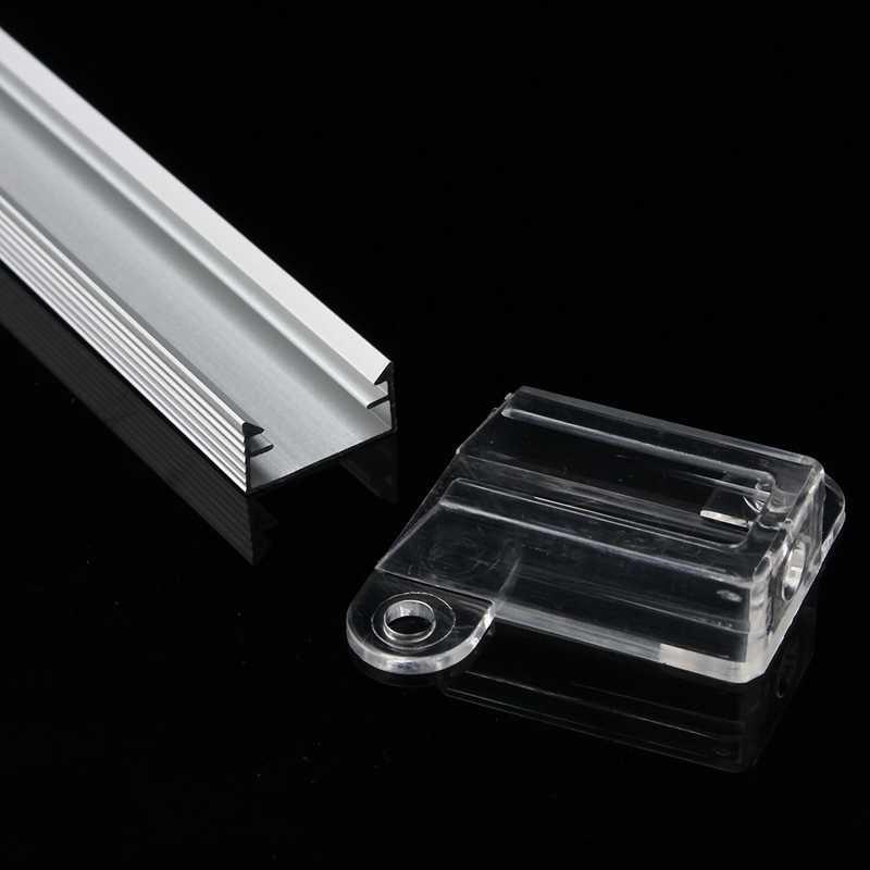 Smuxi 50 см XH-058 алюминиевый светодиод брус свет канала держатель для светодиодные ленты Бар под кабинет светодио дный лампы светодиодные бар огни