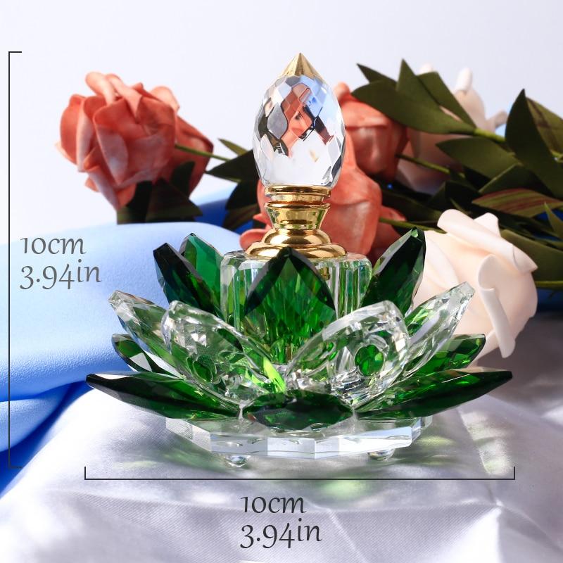 1 дана Crystal Lotus Flower Figurines Парфюмерлік - Үйдің декоры - фото 5
