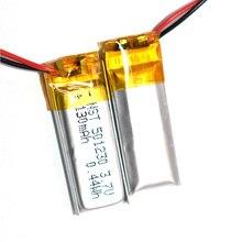 Новинка 3,7 V 130mAh 501230 литий-полимерный Li-Po литий-ионный перезаряжаемый аккумулятор Lipo cells для мобильных Bluetooth наушников динамик MP3MP4
