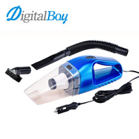 Digitalboy 120W Multi Function Portable Car Vacuum Cleaner Wet Dry 12V Mini Car Vacuum Handheld Super