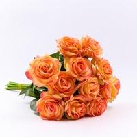 20pcs/set Decor Rose Artificial Flowers Silk Flowers Floral Latex Real Touch Rose Wedding Bouquet Home Party Design Flowers