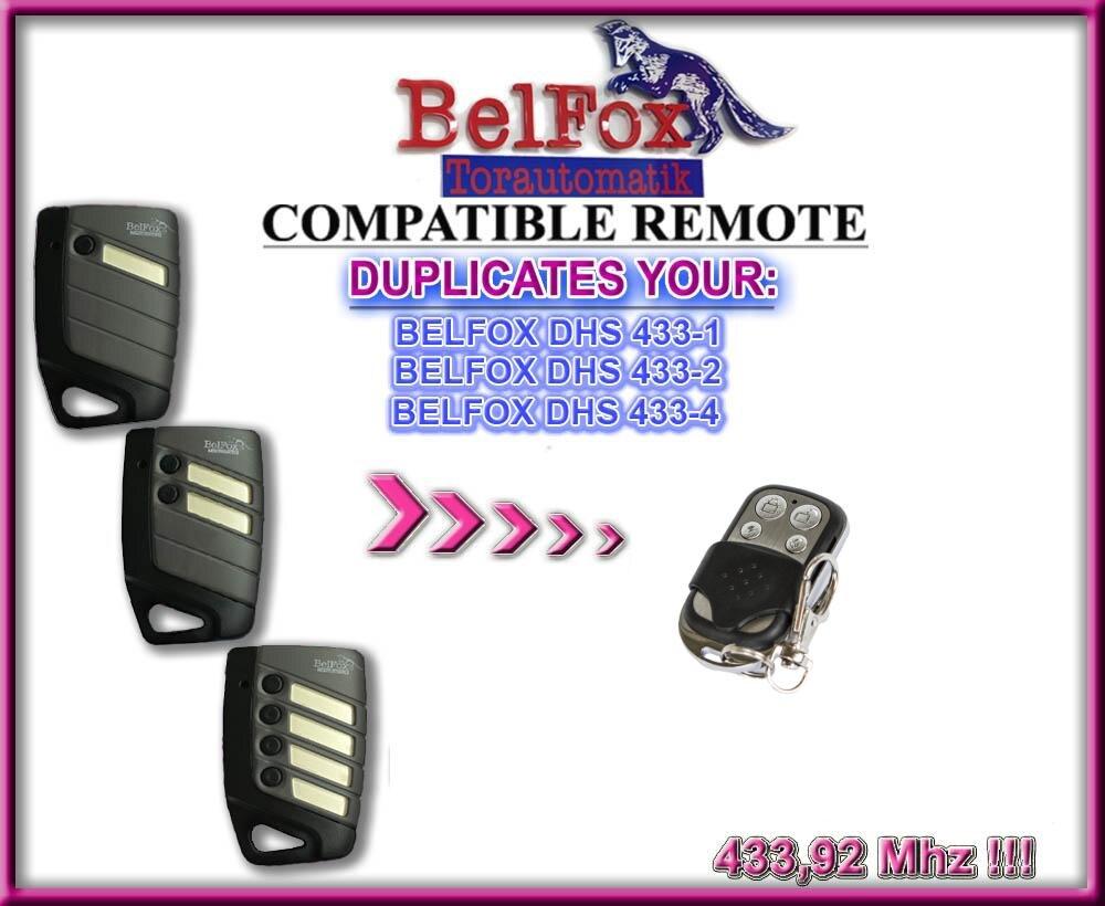 Belfox Dhs433 1433 2, 433 4 Dhs7733 Dip Schalter Version, Universal