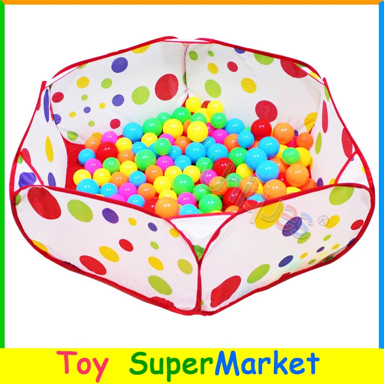 Kids Ocean Balls Pool Baby Play Tent House Playing Game Toy 1M Outdoor Indoor Trip Playhouse for Children Store Collect Toys-in Toy Tents from Toys ...  sc 1 st  AliExpress.com & Kids Ocean Balls Pool Baby Play Tent House Playing Game Toy 1M ...