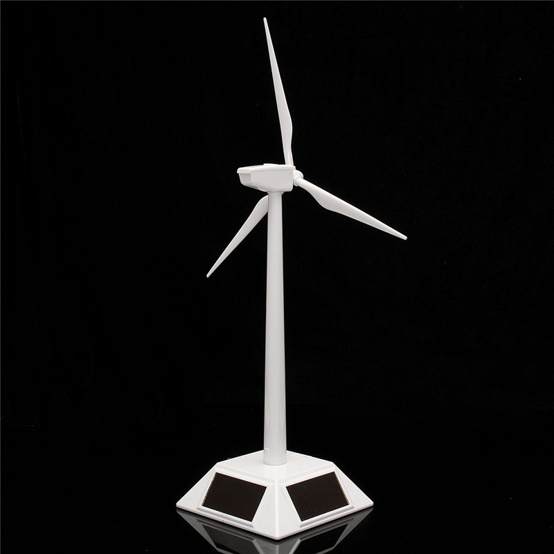 New Arrival Desktop Model-Solar Powered Windmills/Wind Turbine&ABS Plastics Science Toy 11X11X38cm Promotion solar powered head shaking cute hula couple desktop toy