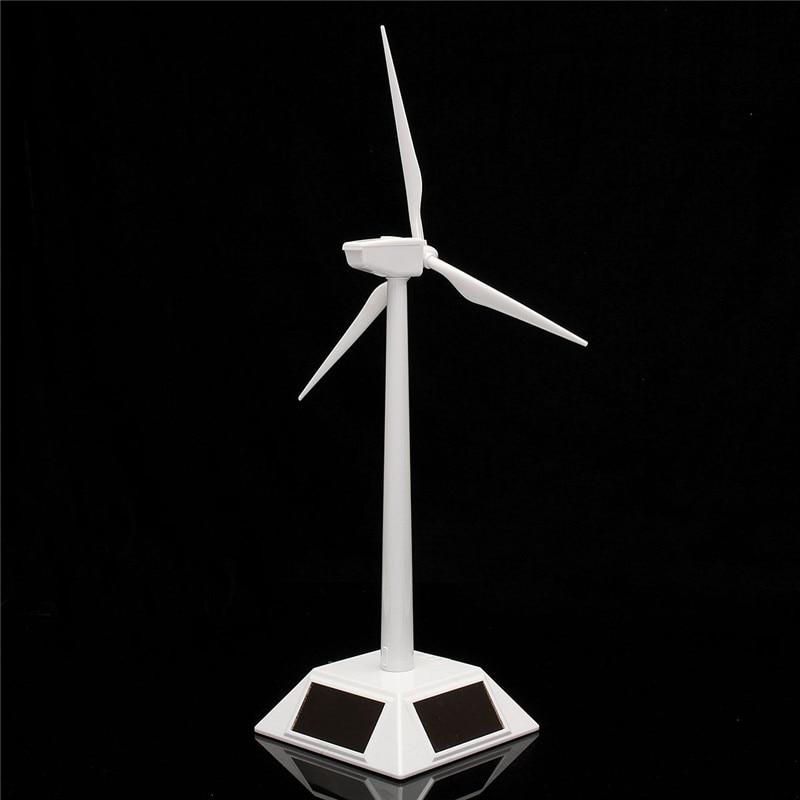 New Arrival Desktop Model-Solar Powered Windmills/Wind Turbine&ABS Plastics Science Toy 11X11X38cm Promotion