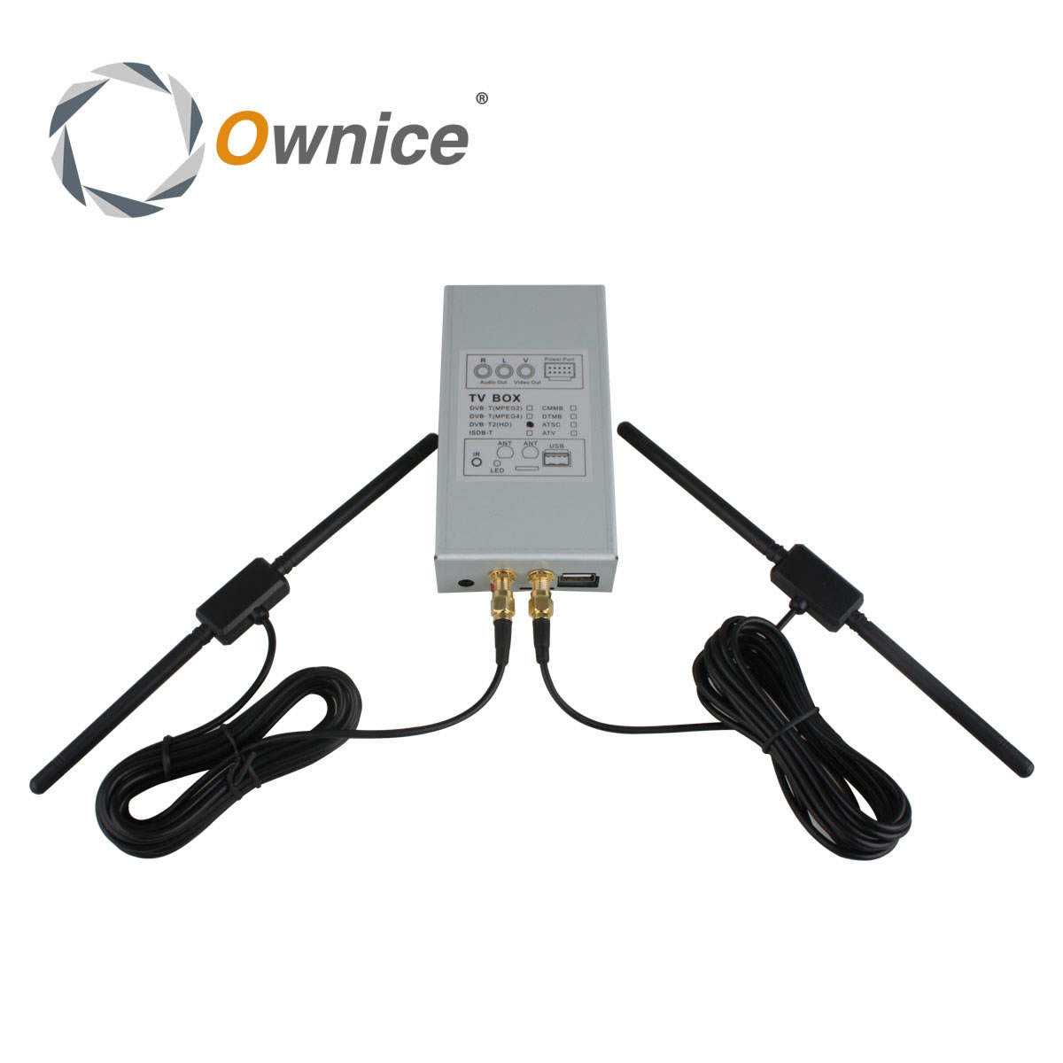 Special DVB-T MPEG4  Digital TV Box For Ownice Car DVD.The Item Just Fit for our Car DVD dvb t2 car 180 200km h digital car tv tuner 4 antenna 4 mobility chip dvb t2 car tv receiver box dvbt2