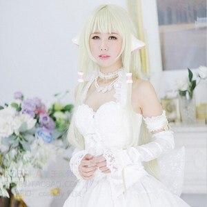 Image 4 - Anime Chobits Elda Chiis Ears Hair Beads Band Cosplay Prop Accessory