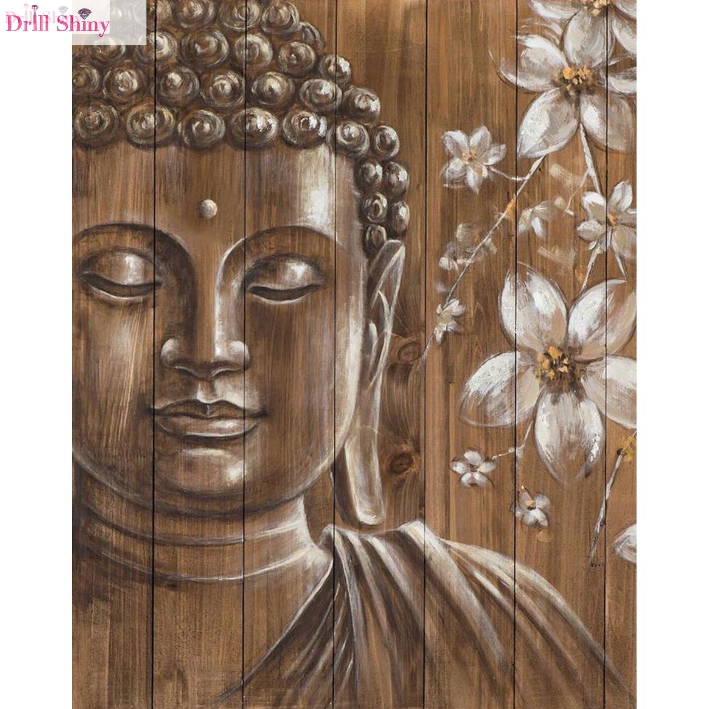 Original Vinyl Fatima Mural Roomdecor Buddha Wall Sticker Decals Flower Eye Hamsa Handx1 Home & Garden