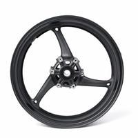 Areyourshop Front Wheel Rim 17 for Suzuki GSXR 600 2008 2012 for Suzuki GSXR 750 2009 2011 GSXR 1000 1Pcs Black Motor Wheel